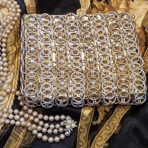 Walborg Vintage Chain Link Evening Bag